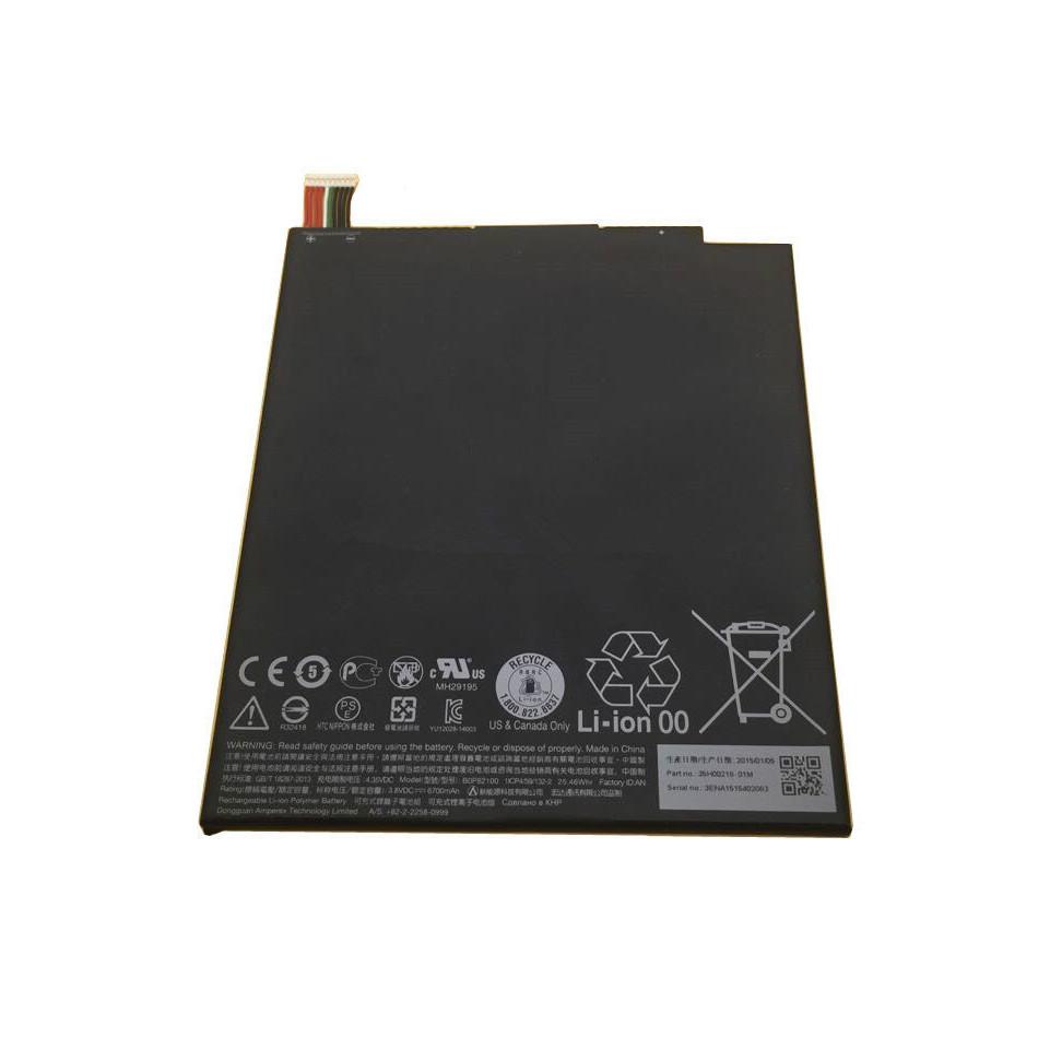 25Wh / 6700mAh HTC NEXUS 9 (8.9
