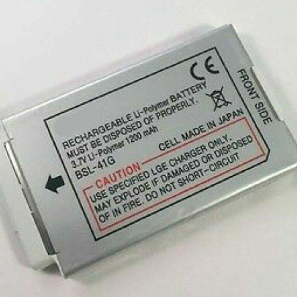 1200mAh 3.7V BSL-41G Replacement Battery for LG U8180 U8170 U8138 U8110