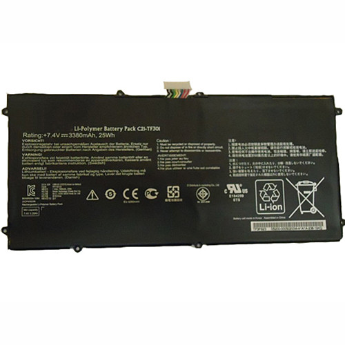 21wh ASUS TF700T TF700 Tablet Replacement Battery C21-TF301 7.4V