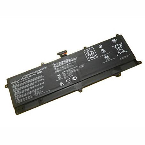 5136mAh/38Wh Asus VivoBook S200E X202E X201E Replacement Battery C21-X202 7.4V