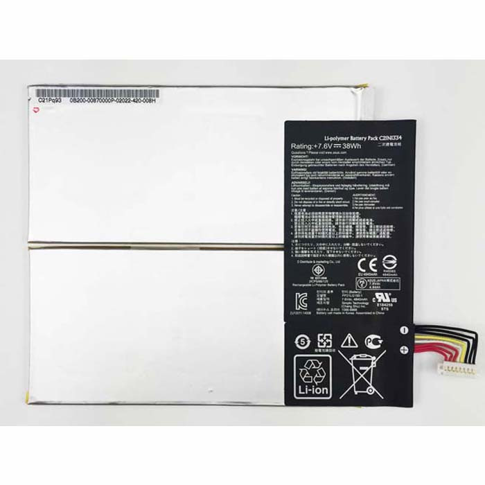 38WH ASUS Transformer Book T200TA Replacement Battery C21N1334 7.6V