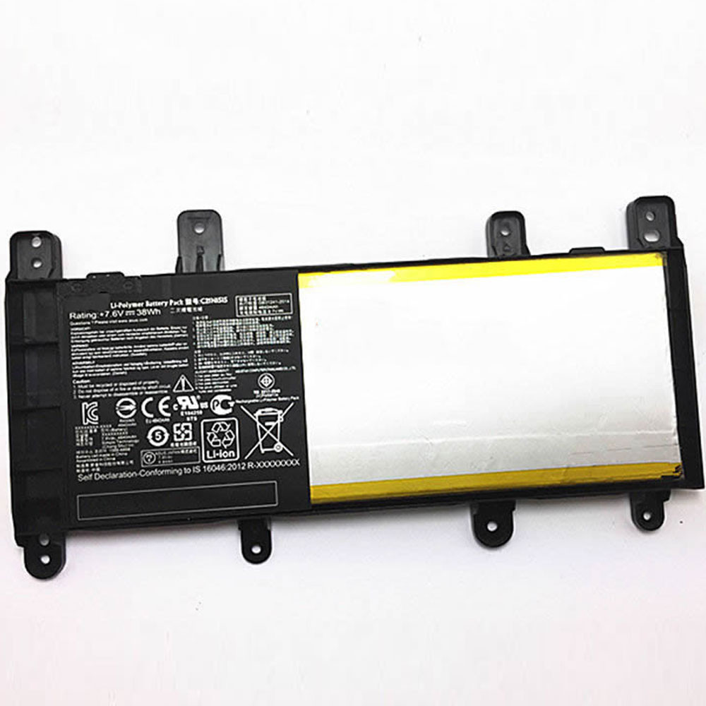 38Wh Asus Notebook X Series X756UJ X756UA X756UX X756UB Replacement Battery C21N1515 7.6V
