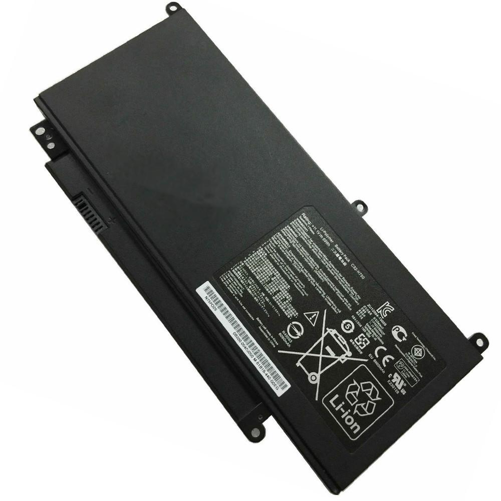 69Wh Asus N750 N750JV N750 N750JK series Replacement Battery C32-N750 11.1V