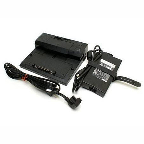 Charger Adapter and Cord for New replace Dell E-Series E-Port Replicator PR03X Included Dell AC Power Adapter