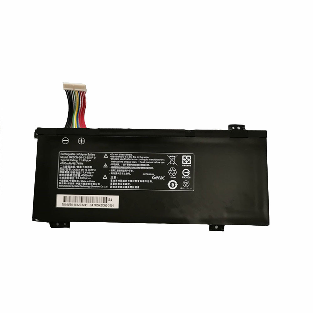 46.74Wh/4100mAh 11.4V GK5CN-00-13-3S1P-0 Replacement Battery for Medion Erazer X6805 X6807 Schenker XMG Neo 17