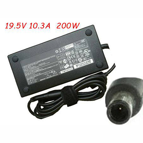 Charger Adapter and Cord for New HP 8740W Series 200W Slim Smart AC Adapter 608431-002