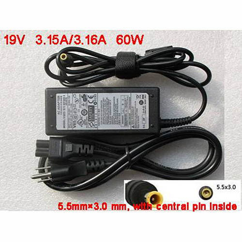 Charger Adapter and Cord for New 19V 3.16A Power Charger AC Adapter HP ADP-60NH