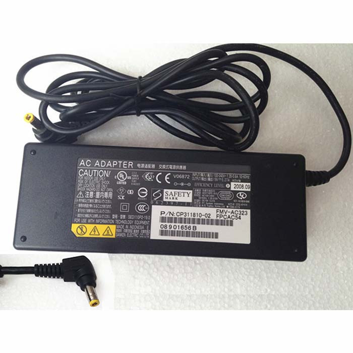 Charger Adapter and Cord for Fujitsu Lifebook T902 T901 E781 E782 S761