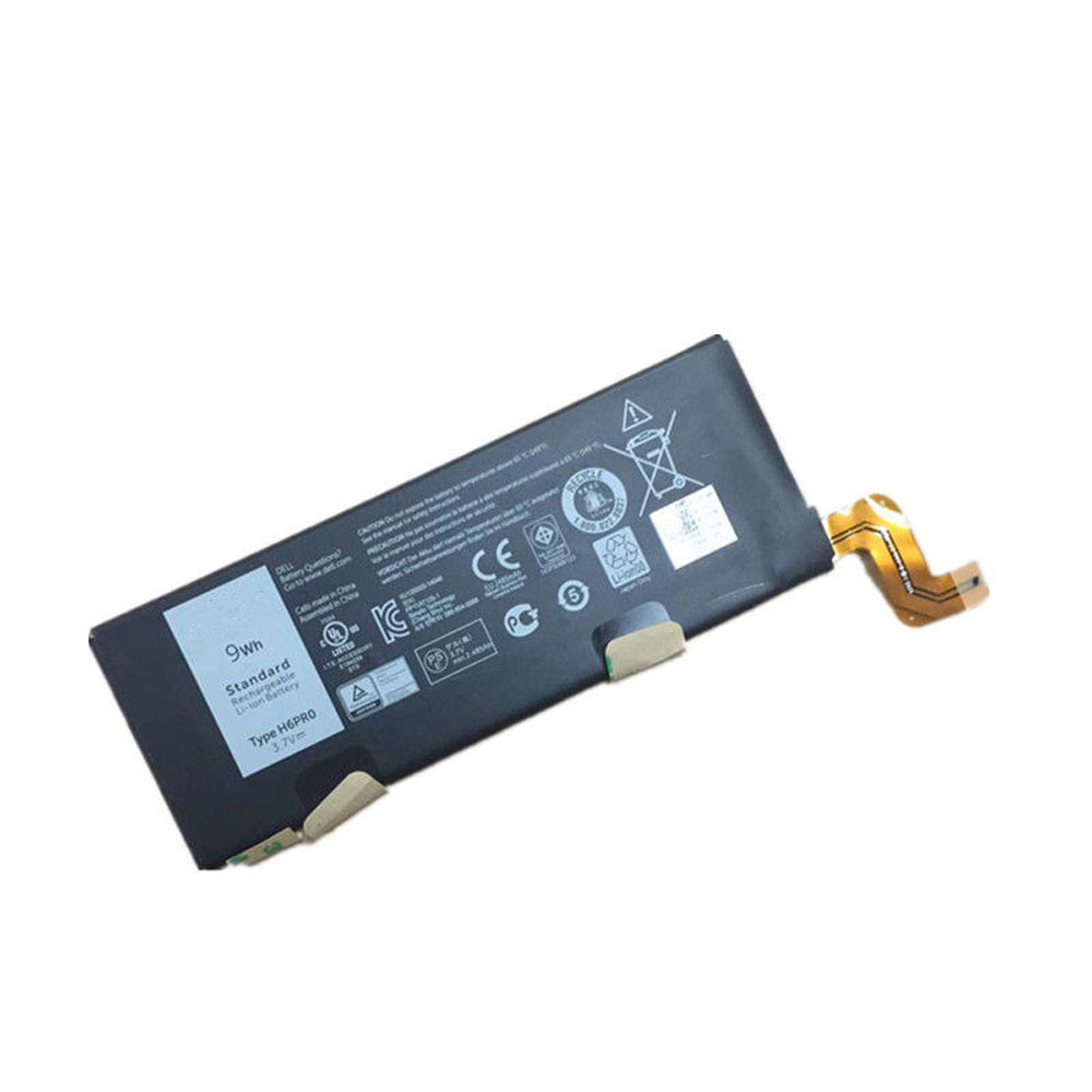 9Wh 3.7V H6PRO Replacement Battery for Dell H6PRO H6PR0