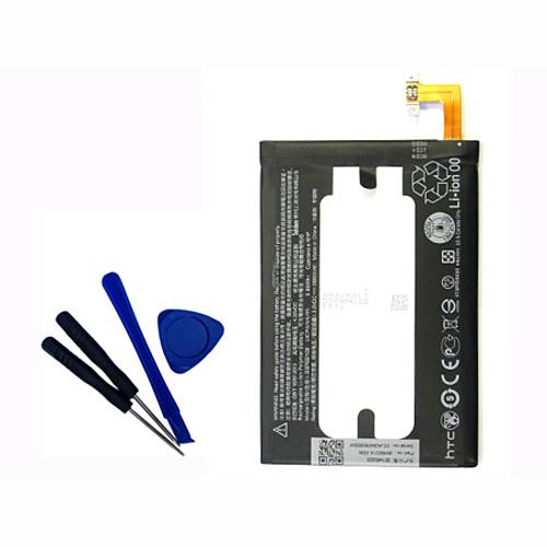 2600mAh HTC One Internal M8 Battery 2600mAh 3.8V  +Tools Replacement Battery 35H00214-00M B0P6B100  3.8V