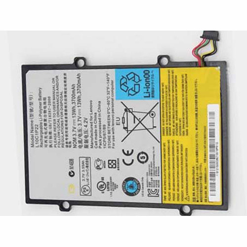 13.69wh/3700mah 121001229 L10C1P22 H11GT101A Replacement Battery Lenovo Idepad A1 A1-07 Tablet 3.7V