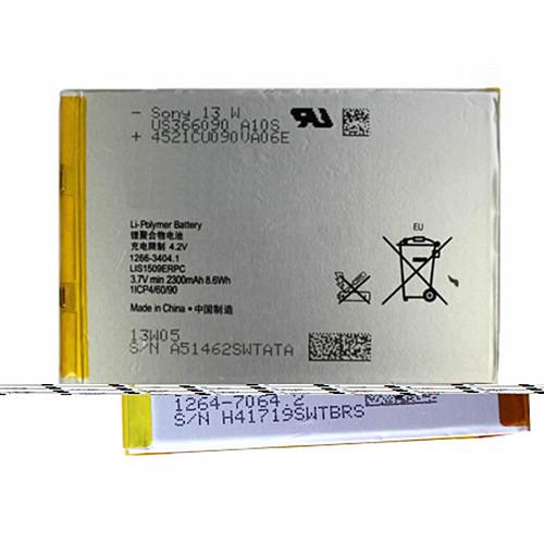 2300mAh SONY Para Xperia SP M35h c530x C5302 C5303 C5306 HuaShan Replacement Battery LIS1509ERPC 3.7V