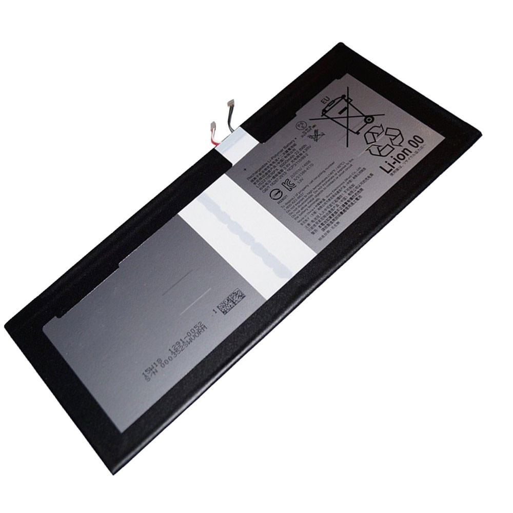 22.8Wh/6000mAh 3.8V LIS2210ERPX Replacement Battery for Sony Xperia Z4 Tablet SGP712 SGP771