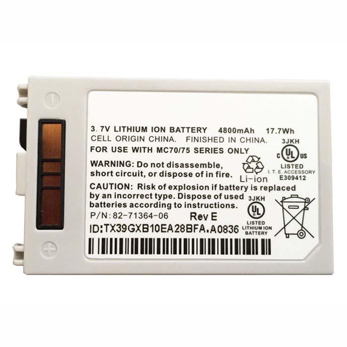 4800MAH(not compatible with 3600MAH and 1950MAH) Motorola Symbol MC70 MC75 MC75A Extended Replacement Battery MC7XEAB0H 3.7V