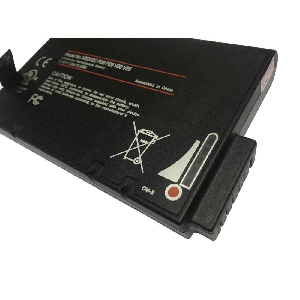 7200mah PHILIPS TC20  TC30  TC50  TC70 Replacement Battery ME202C 11.1V