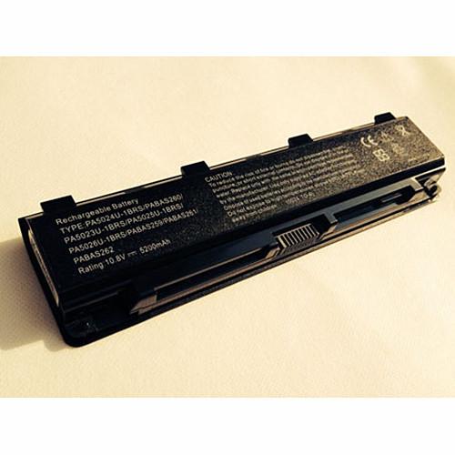 5200mAh/6cell Toshiba Satellite C800 C850 C870 L800 L830 L855 L870 C55 C55Dt  Replacement Battery PA5024U-1BRS PA5109U-1BRS PA5024U-1BRS  10.8V/11.1V