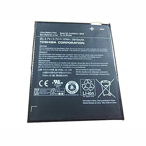 3940mah Toshiba H000042680 Series  Replacement Battery PA5054U-1BRS 3.7V