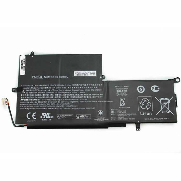 56Wh HP Spectre Pro X360 Spectre 13  Replacement Battery PK03XL HSTNN-DB6S 6789116-005 11.4V