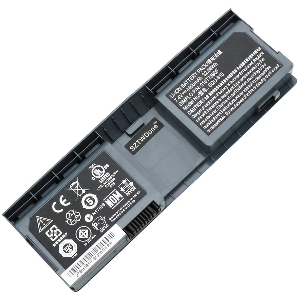 4800mah FUJITSU NOBi Intel 8.9inch Classmate Convertible netbook Replacement Battery SQU-810 7.4V
