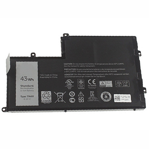 43Wh/3800mah Dell Inspiron 15-5547 Maple 3C  Replacement Battery TRHFF 1V2F6 01V2F 1WWHW 11.1V