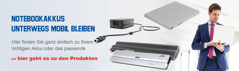Verkauf Notebook Batterien